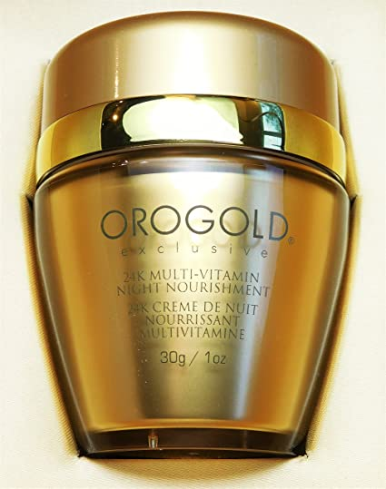 Orogold Exclusivo 24K noche multi vitaminas alimento 1 oz/30 g