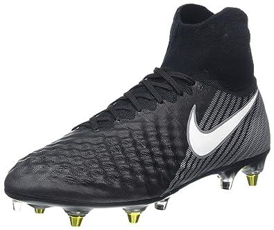 5853fa2ea1 Nike Herren Magista Obra Ii Sg-Pro Ac Fußballschuhe, Schwarz (Black/White