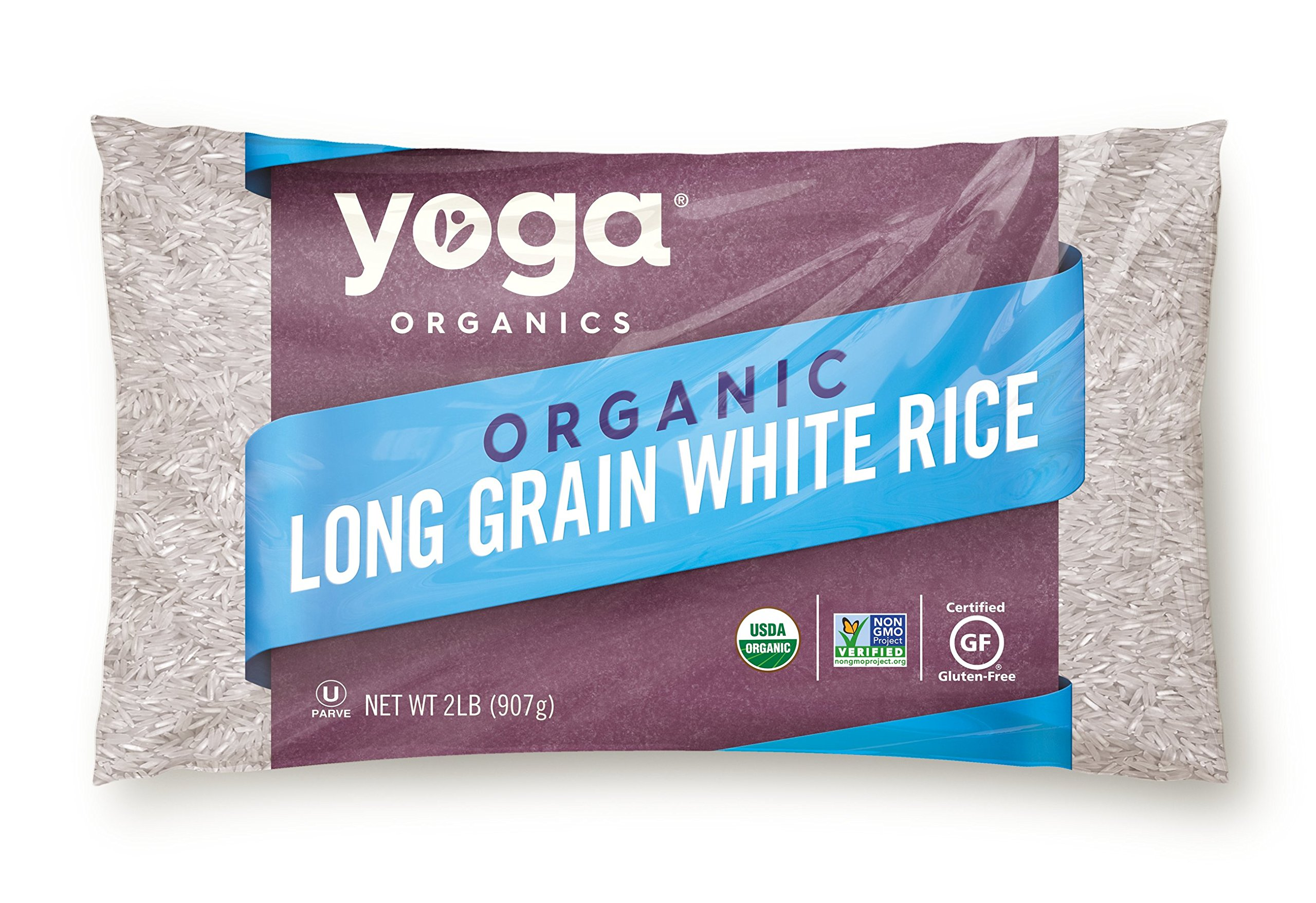 Yoga Organic Long Grain White Rice - GMO, Cholesterol & Sodium Free (32 oz)