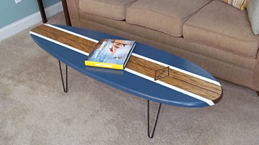 Surfboard Coffee Table 5 Ft. 6 In. - Amazon.com: Surfboard Coffee Table 5 Ft. 6 In.: Home Improvement