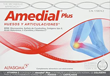 AMEDIAL Plus 5G 20 Sobres by Sigma Tau