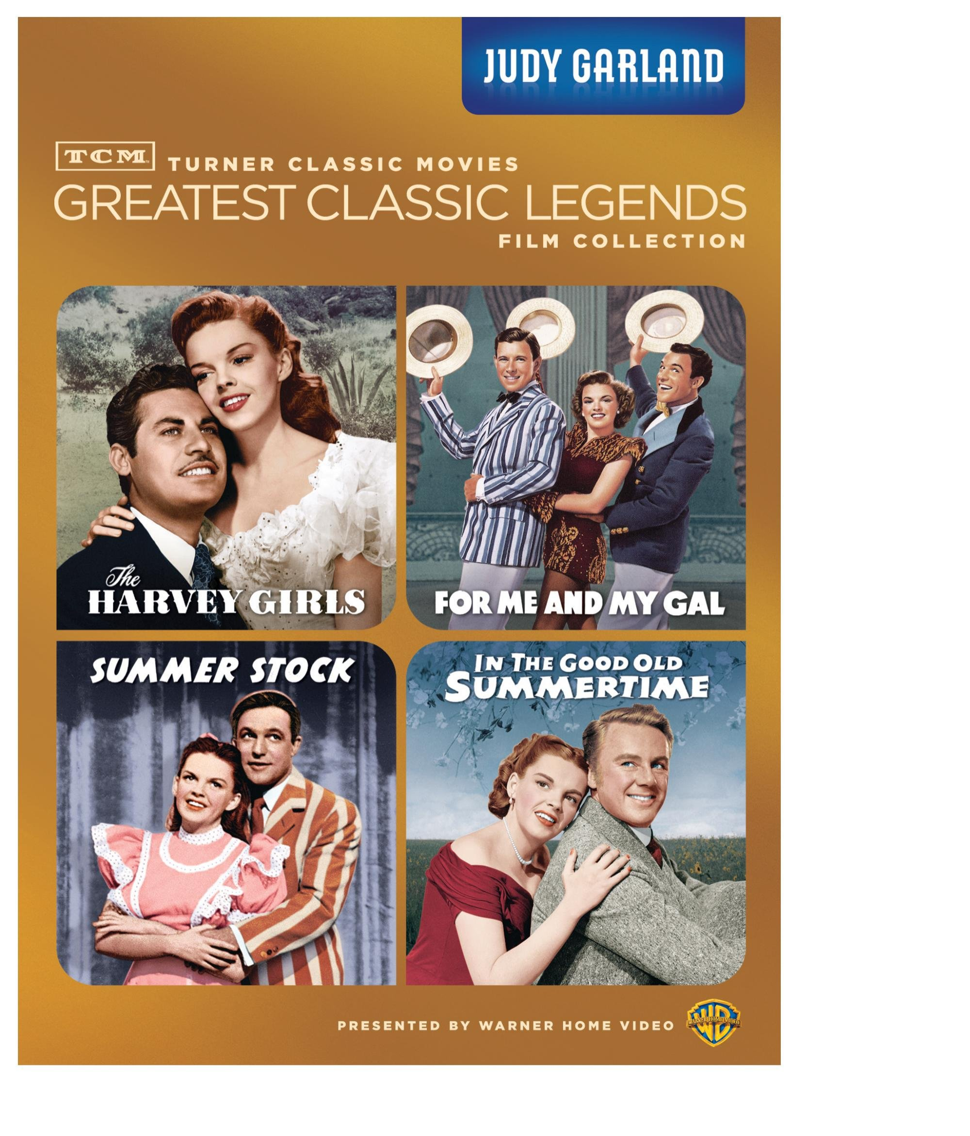 TCM Greatest Classics Legends: Judy Garland (The Harvey Girls / For Me and My Gal / Summer Stock / In The Good Old Summertime) by Warner Home Video