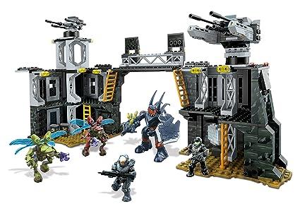 Amazon Mega Bloks Halo Unsc Firebase Toys Games