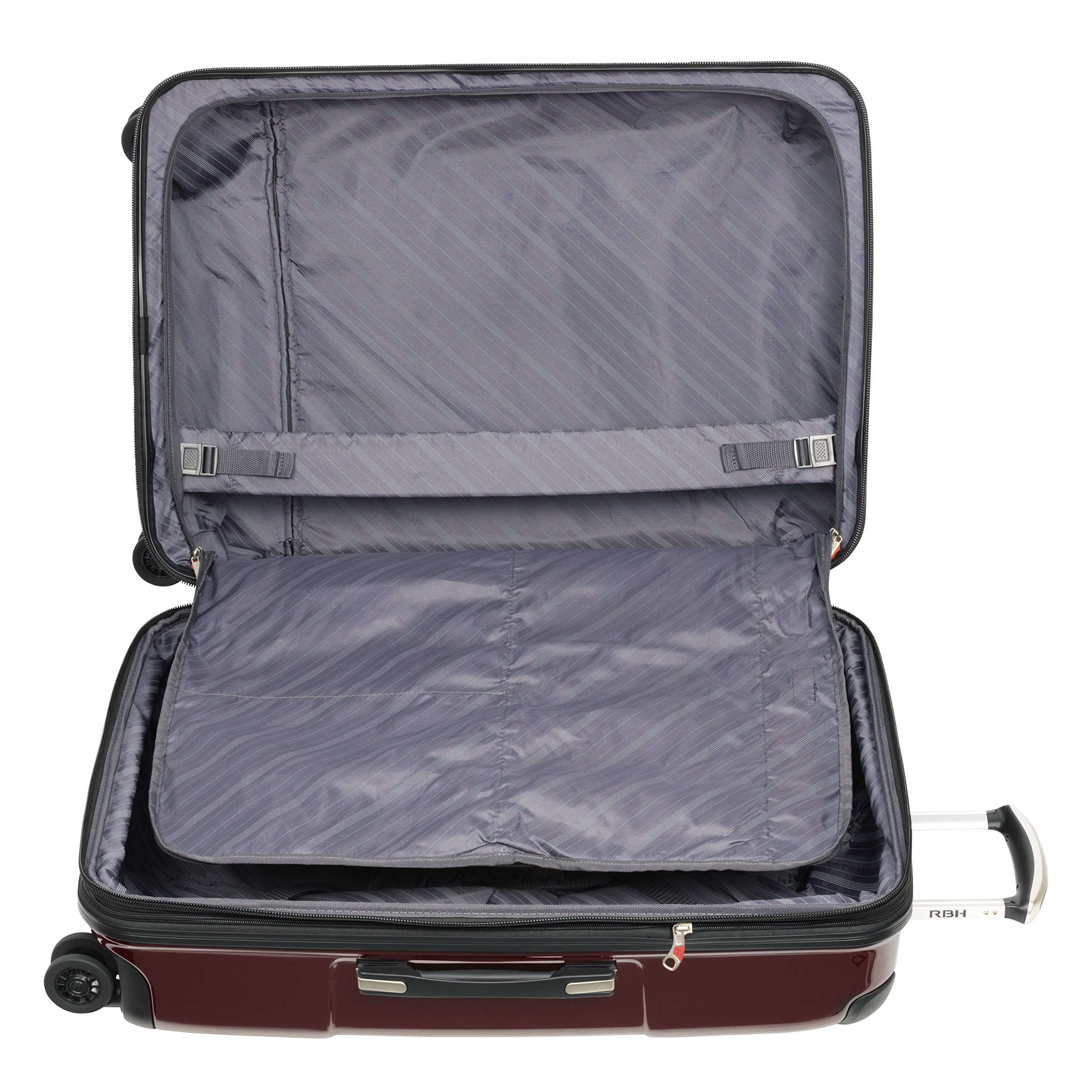 Ricardo Beverly Hills Luggage Rodeo Drive 29-Inch 4-Wheel Expandable Upright, Black Cherry, One Size by Ricardo Beverly Hills (Image #4)
