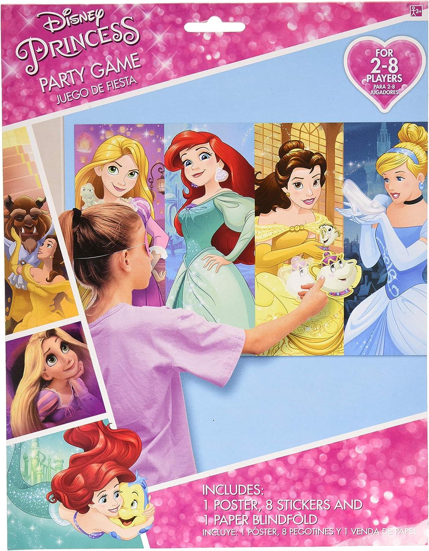 Amazon.com: Amscan – Disney Princess Dream Big Fiesta de ...