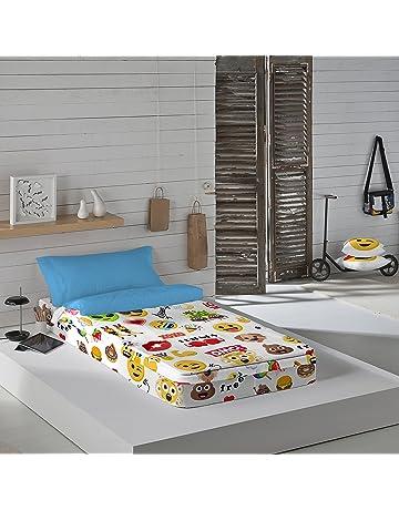 Emoji Party - Saco nórdico para cama de 90 cm (con relleno)