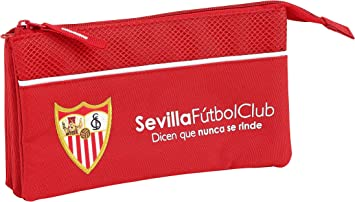 F.C; Sevilla 811856744 2018 Estuches, 22 cm, Rojo: Amazon.es: Equipaje