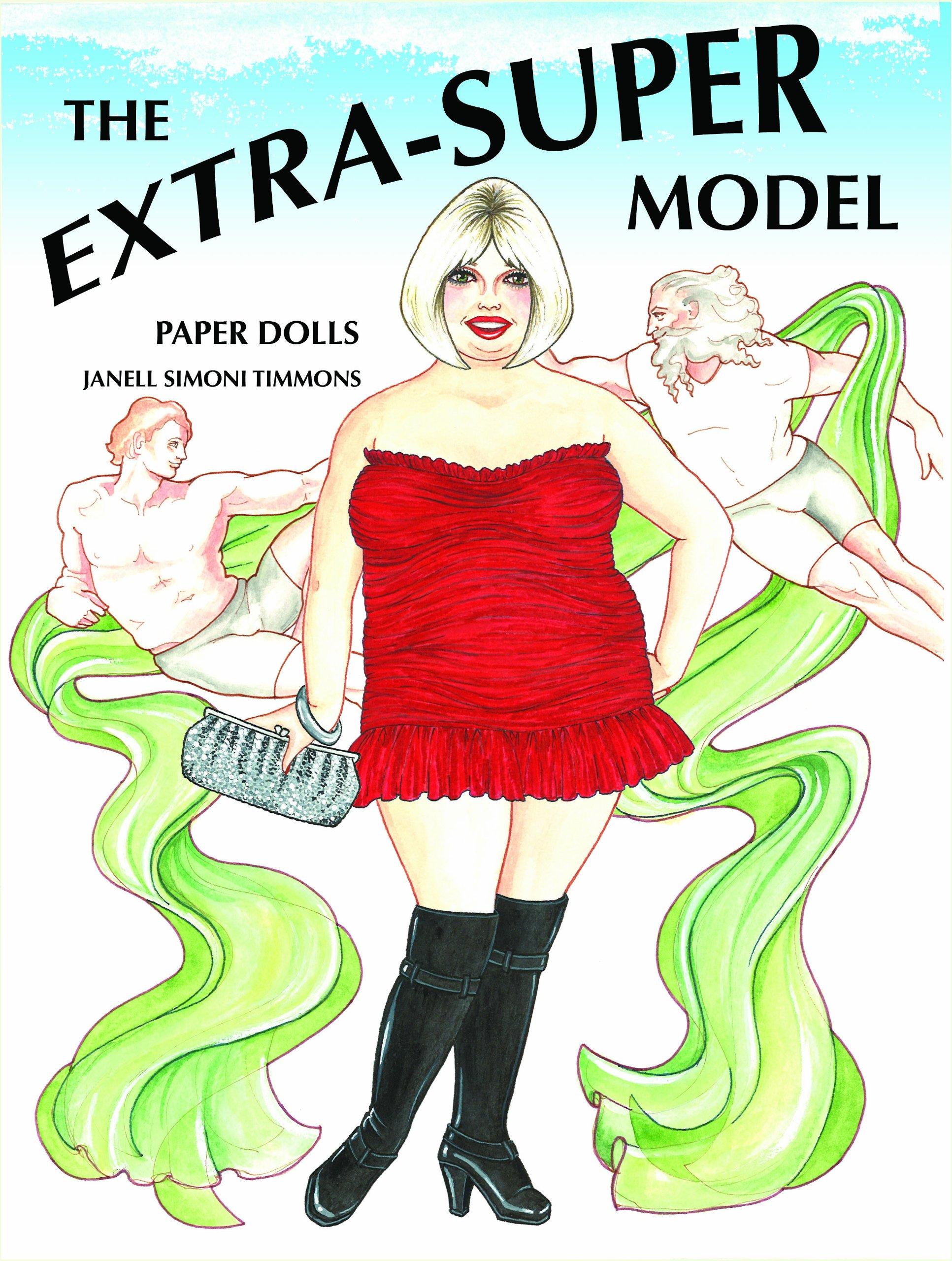 Download The Extra-Super Model Paper Dolls pdf epub