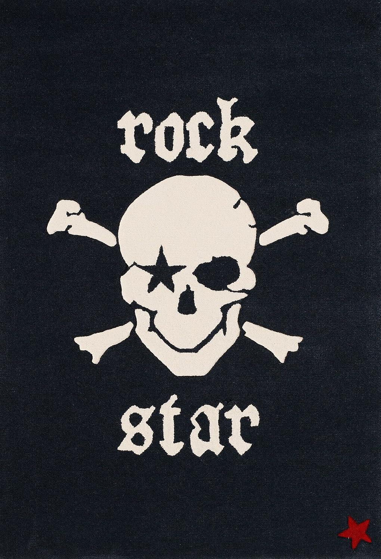 Rock Star Baby RS-2385-01 Teppich Neuseelandwolle - 130 x 190 cm