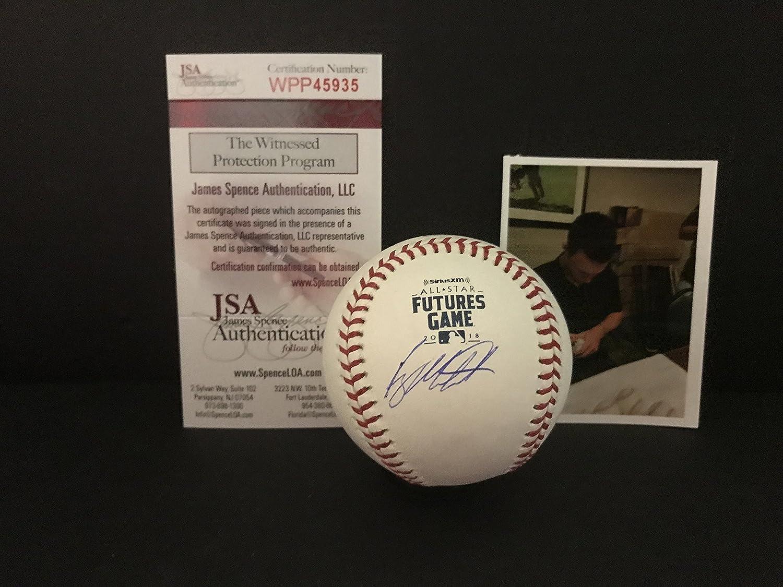 Ryan Mountcastle Baltimore Orioles Autographed Signed 2018 FUTURES GAME Baseball Proof JSA WITNESS COA