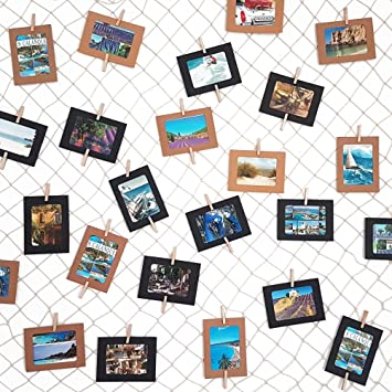Letoma Fotonetz 2x1m Aus 100 Baumwolle Ideal Um Fotos Aufzuhängen