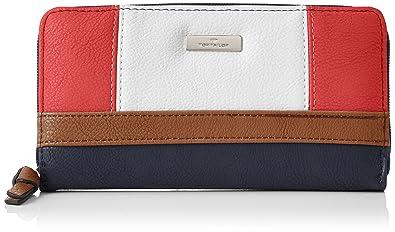 e37f4093ef19ca TOM TAILOR für Frauen Taschen & Geldbörsen Portemonnaie Juna rot/red,  OneSize
