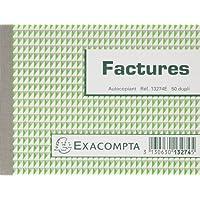 Manifolds factures - 50 feuillets autocopiants - sous film par lot de 5