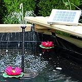 PK Bomba solar para fuente de agua con panel de 70 cm