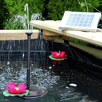 Fontaine Solaire Extérieur, Pompe à Eau Solaire Pour Fontaine De Bassin,  Jardin, Piscine