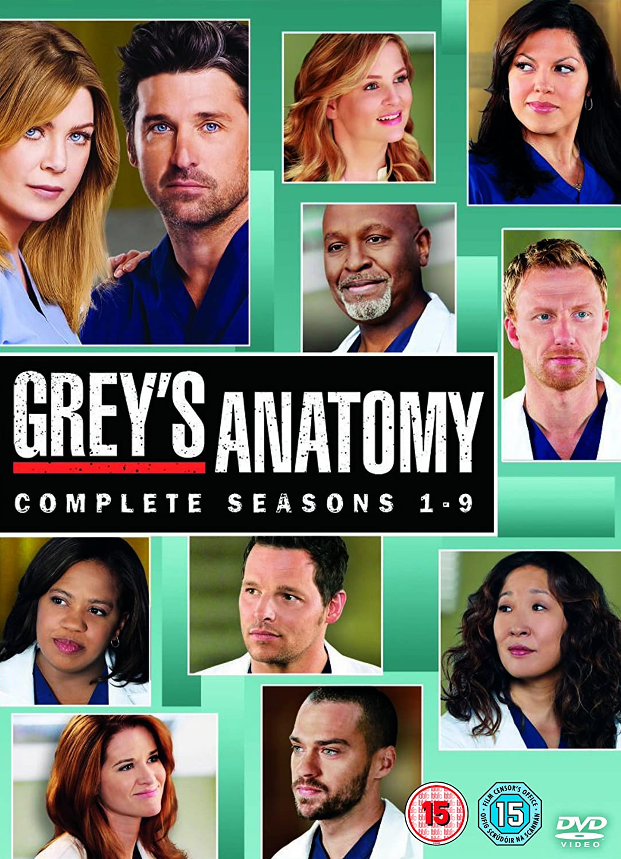Amazon.com: Grey\'s Anatomy (Complete Seasons 1-9) - 54-DVD Box Set ...