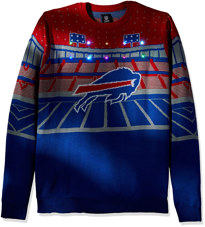 8a3447a5ecc Amazon.com   FOCO NFL Mens Light Up Bluetooth Speaker Sweater   Sports    Outdoors