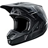 2017 Fox Racing V2 Rohr Helmet-Black/Grey-M