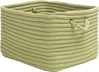 """product image for Colonial Mills Modern Farmhouse Home Basket, 14""""x8""""x10"""", Pistachio"""