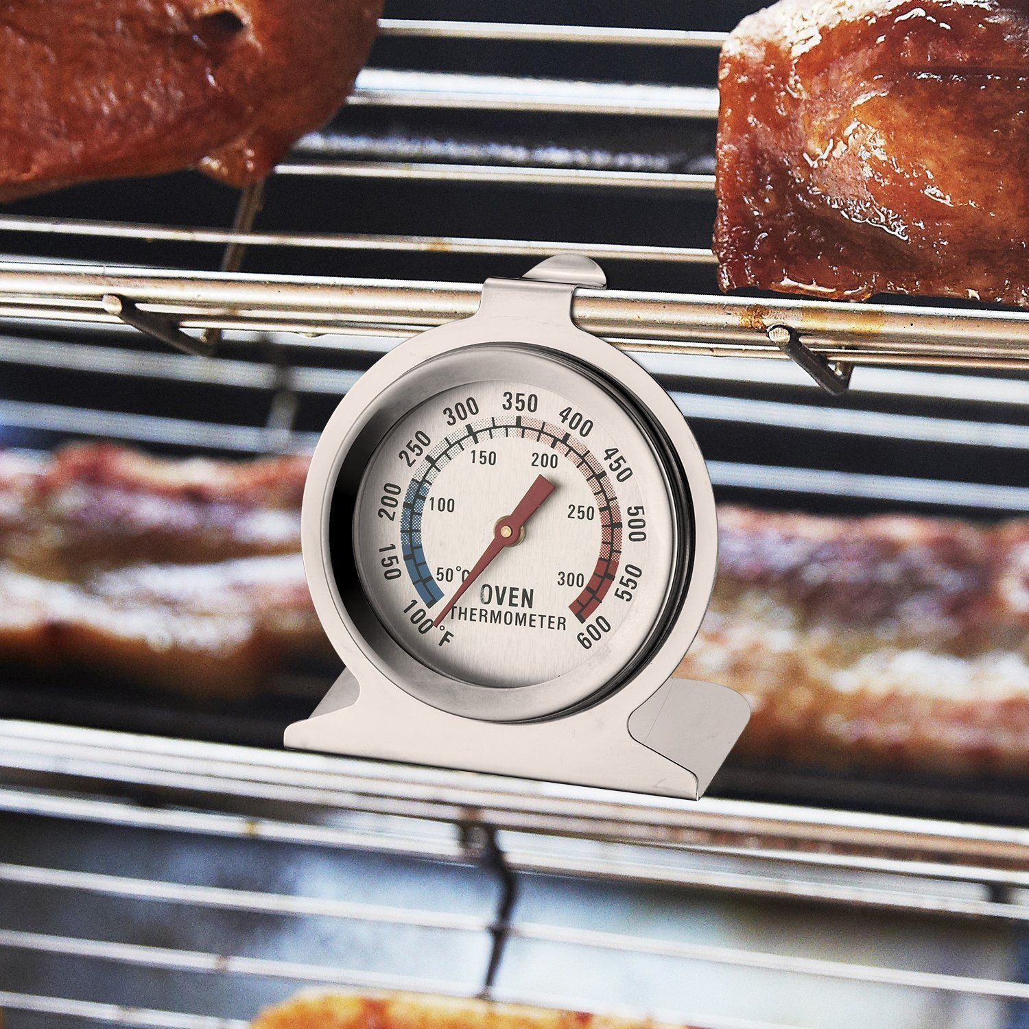 Taylor Precision Products Classic Series Large Dial Thermometer (2 Pack,Oven)