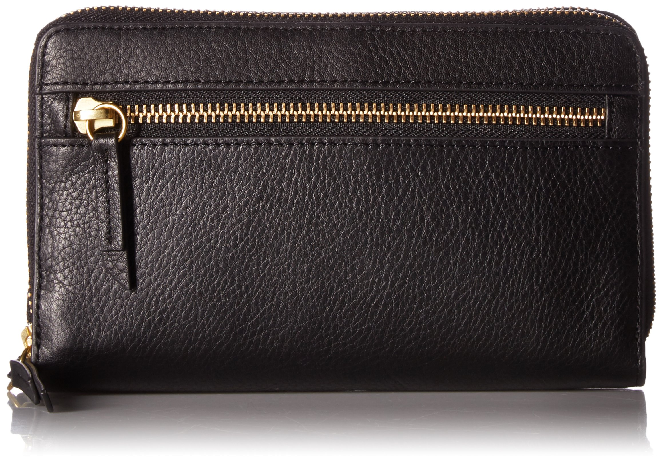 Fossil Raven Wallet on a String Bag, Black by Fossil