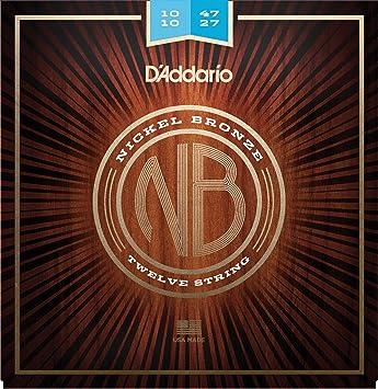 DAddario NB1047-12 Cuerdas para Guitarra Acústica: Amazon.es ...