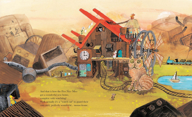 Five Nice Mice Build a House: Chisato Tashiro: 9789888240395: Amazon.com:  Books