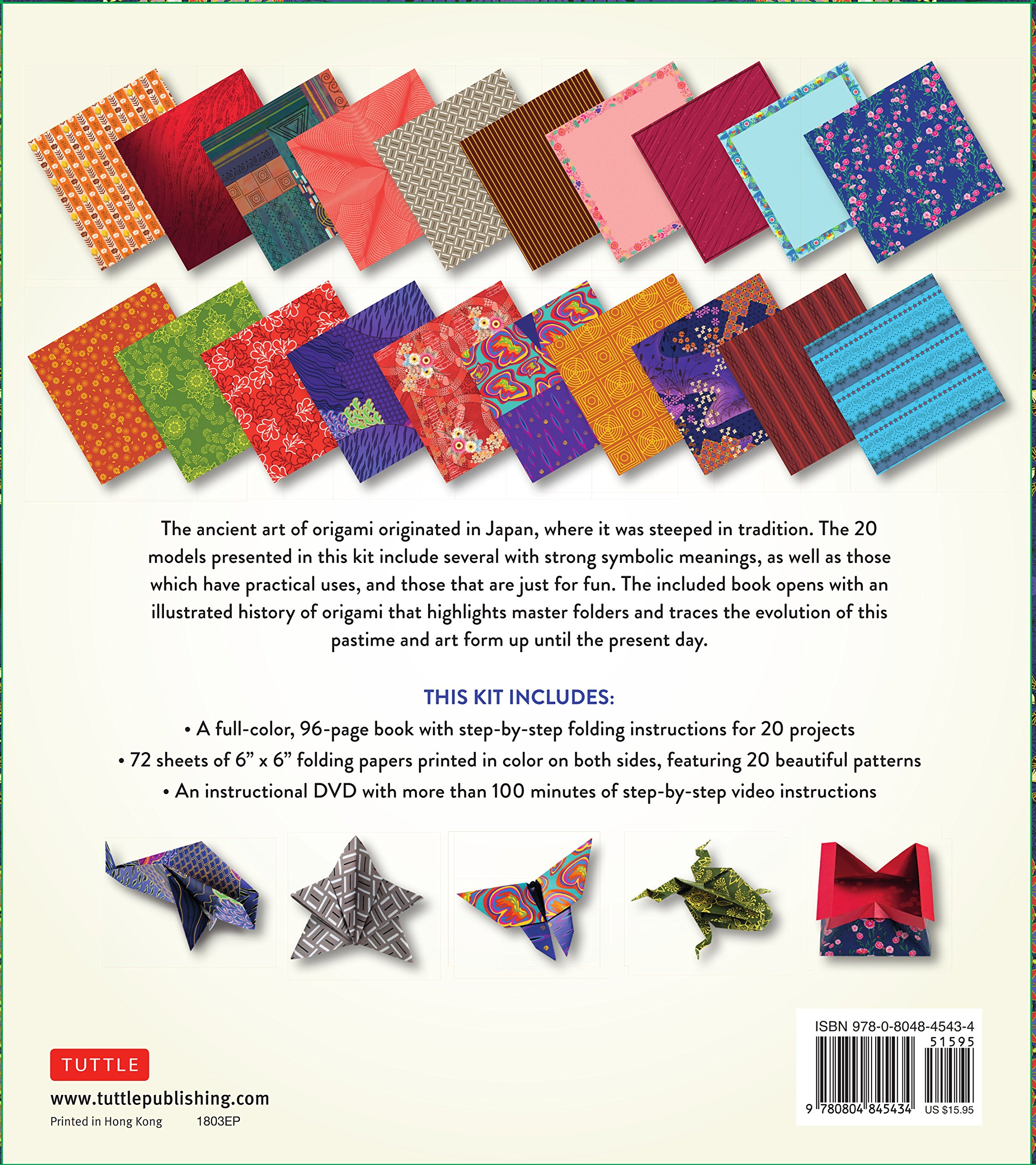 Japanese Origami For Beginners Kit 20 Classic 3d Small Swan Assembly Diagram Beginner Tutorial Models With 96 Page Book 72 High Quality Papers And Instructional