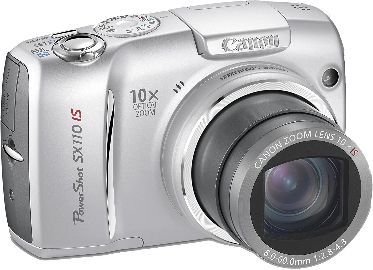 Canon PowerShot SX110 IS - Cámara Digital Compacta 9 MP: Amazon.es ...