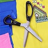 Hui Tong Fabric Pinking Shears,Serrated and
