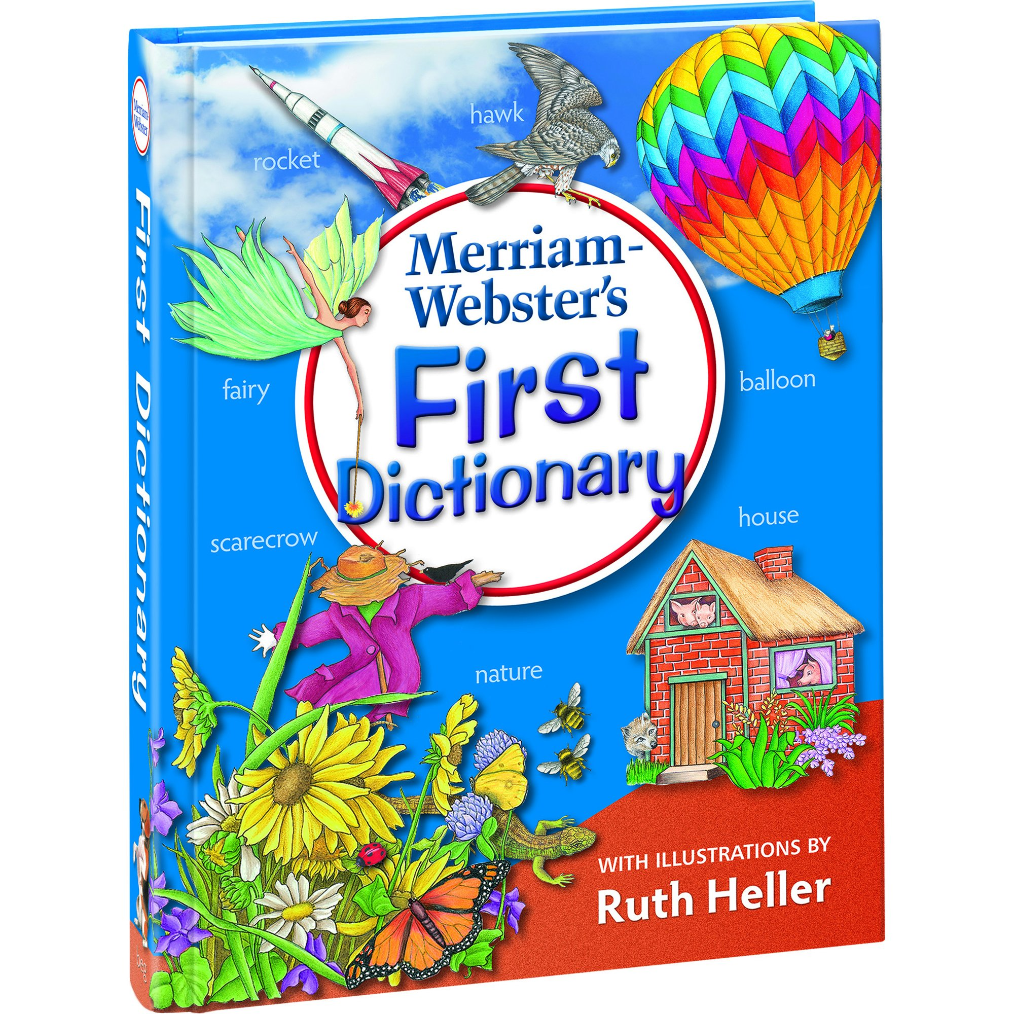 Merriam-Webster s First Dictionary (with illustrations by Ruth Heller)  Newest edition Hardcover – October 1 6db5f168f