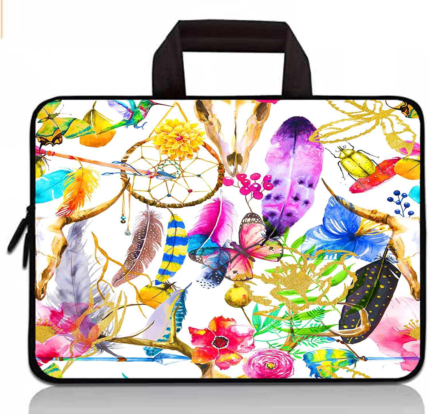 14 Inch Laptop Sleeve Case Bag for Acer Swift 3 SF314,ASUS ZenBook 14,Dell Latitude/Inspiron 14, HP Chromebook 14/HP Stream 14/Pavlilion 14/ProBook 14,Lenovo IdeaPad 3 14/Chromebook S330-Butterfly