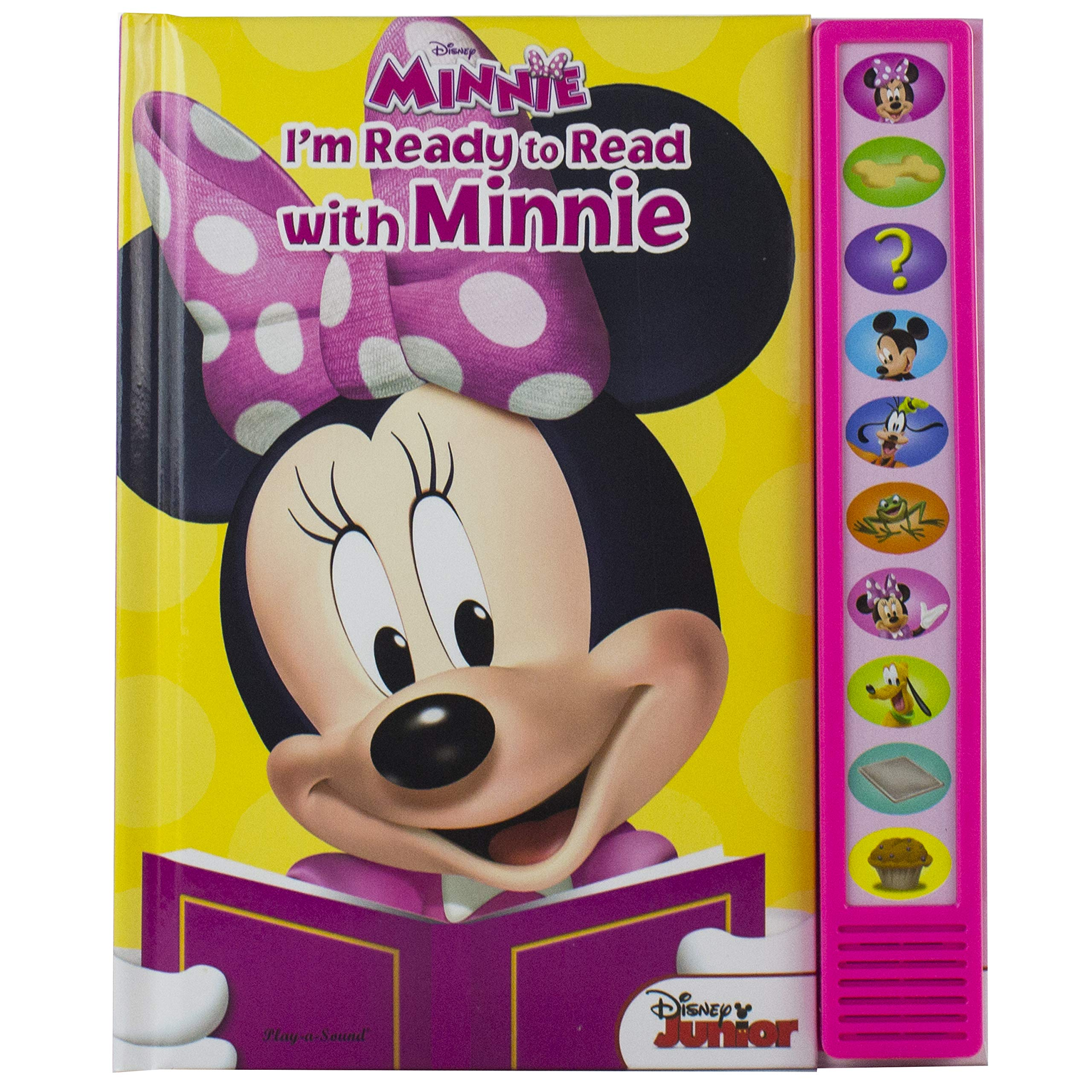 Disney Minnie Mouse – I'm Ready to Read with Minnie Sound Book – Great Alternative to Toys for Christmas – PI Kids (Play…