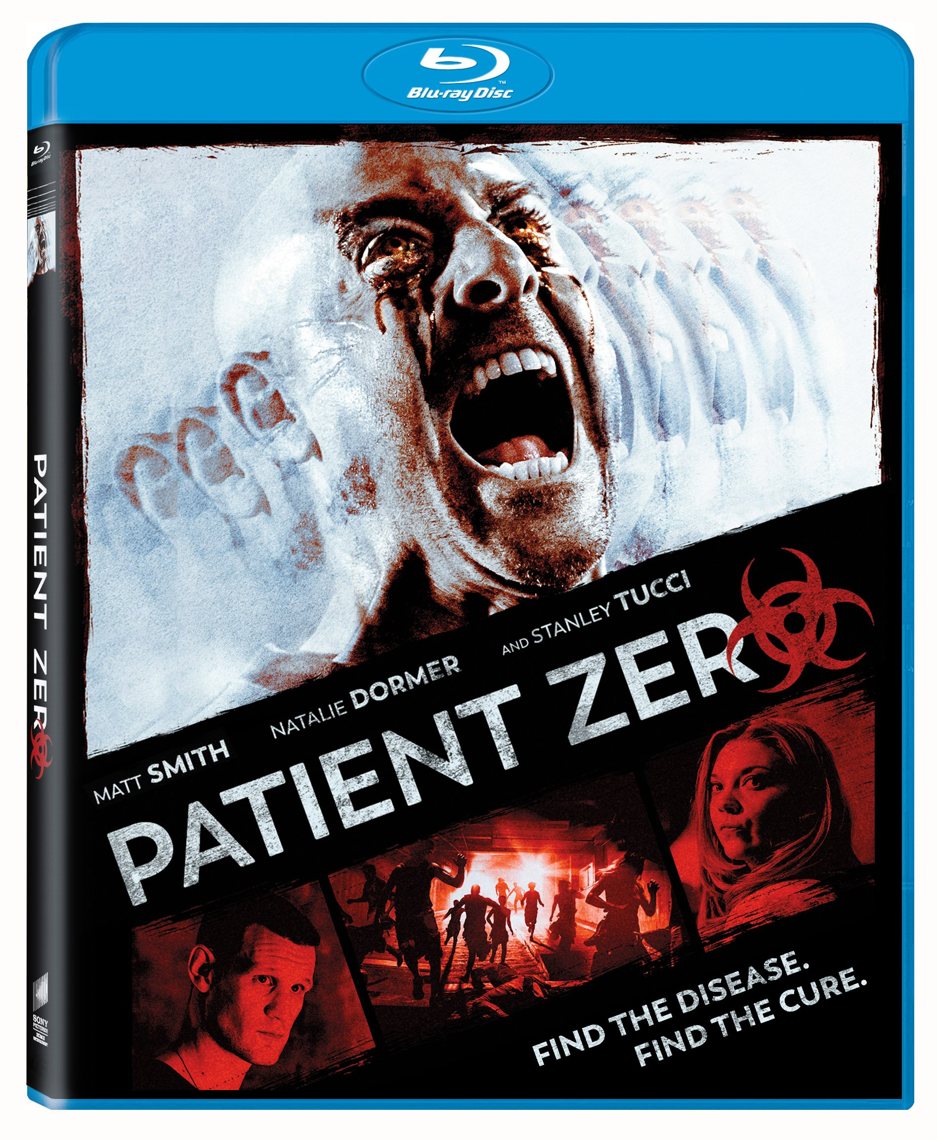 Blu-ray : Patient Zero (Widescreen, Dolby, AC-3, Subtitled, Dubbed)
