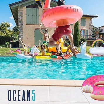 Ocean5 Island Inflatable Flotante XXL natación Marca Ocean8 ...