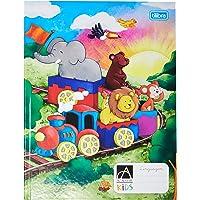 Caderno Brochura Capa Dura Linguagem Académie Kids, Tilibra, Azul, 40 folhas, 1 unidade
