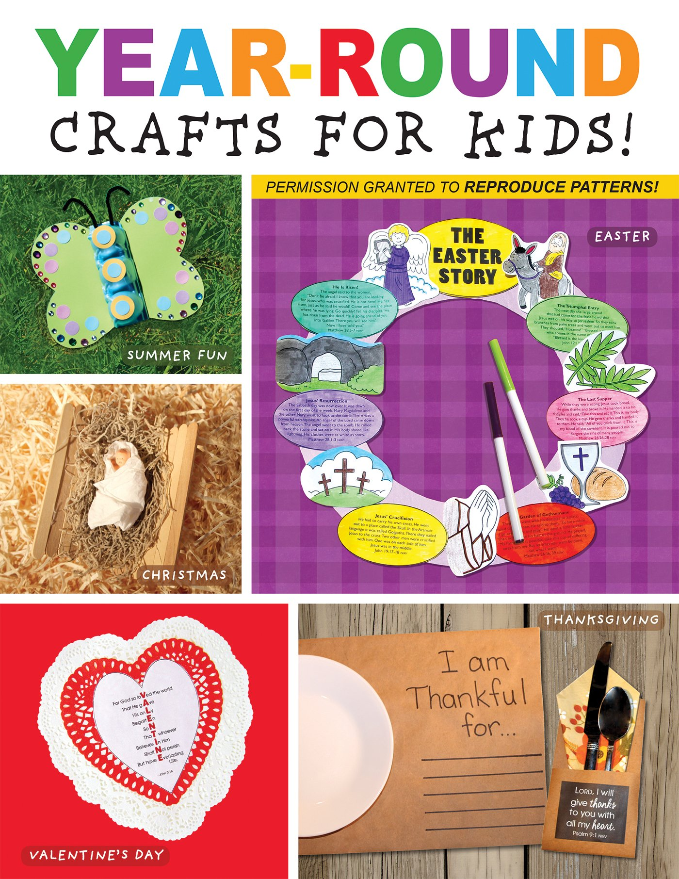 Year-Round Crafts for Kids (I'm Learning the Bible Activity