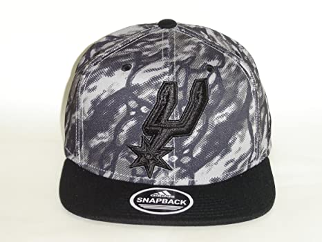 2c4818599 Amazon.com : Adidas NBA San Antonio Spurs 2 Tone Paint Brush Black ...