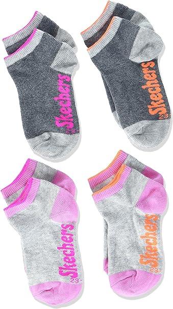 Skechers Socks Boys Ankle Socks, Pack of 2