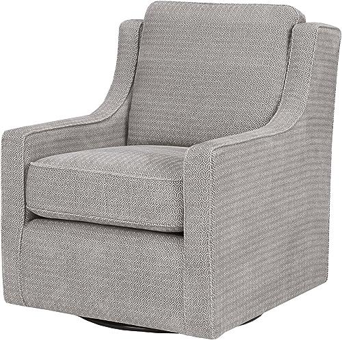 Madison Park Harris Swivel Chair Grey See Below