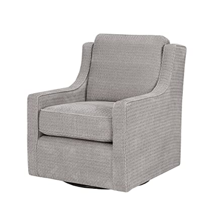 Charmant Madison Park Harris Swivel Chair Grey See Below