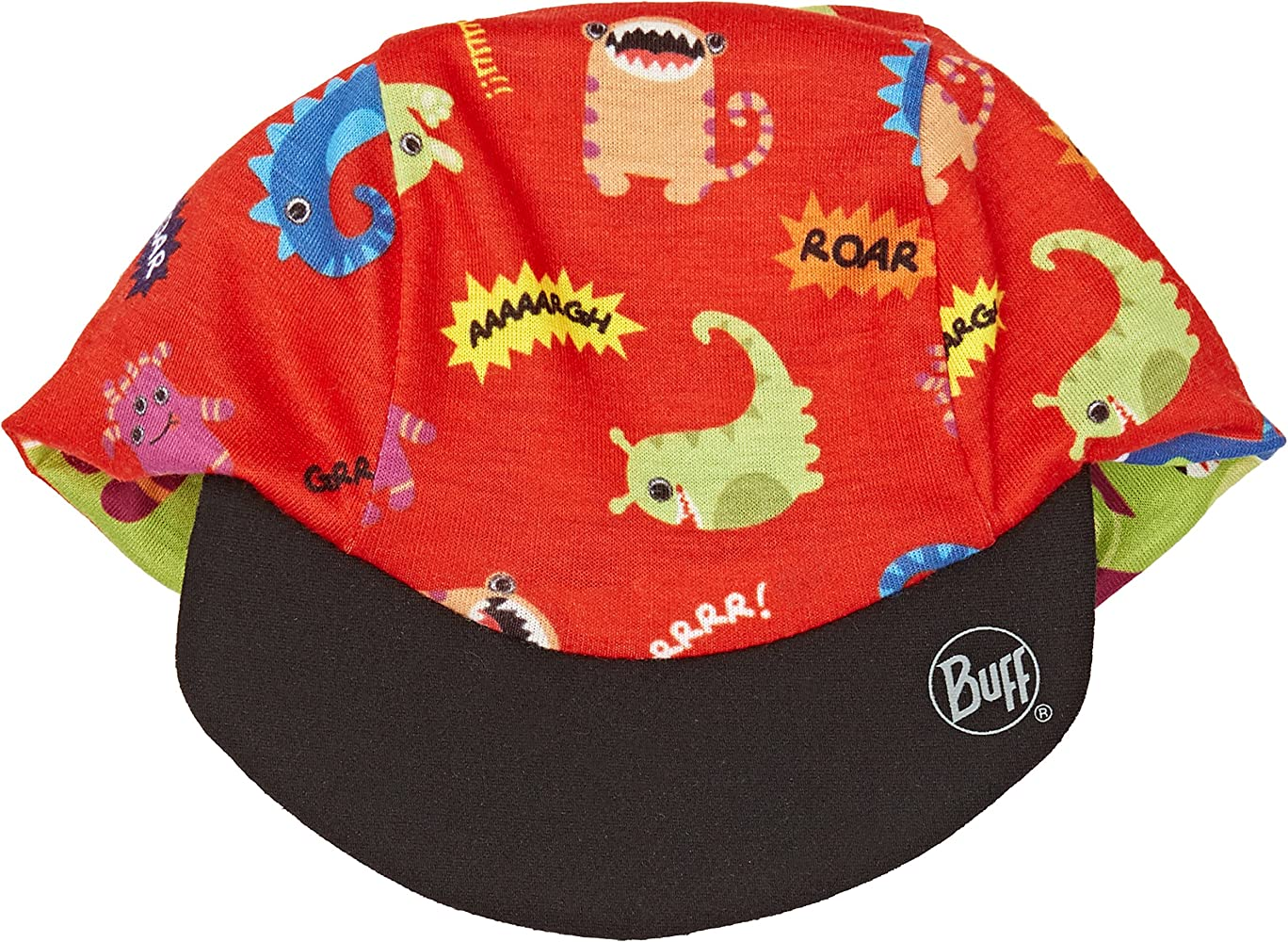 Original Buff MAX Monsters Cap Coolmax, Unisex, Estampado, 3 años ...
