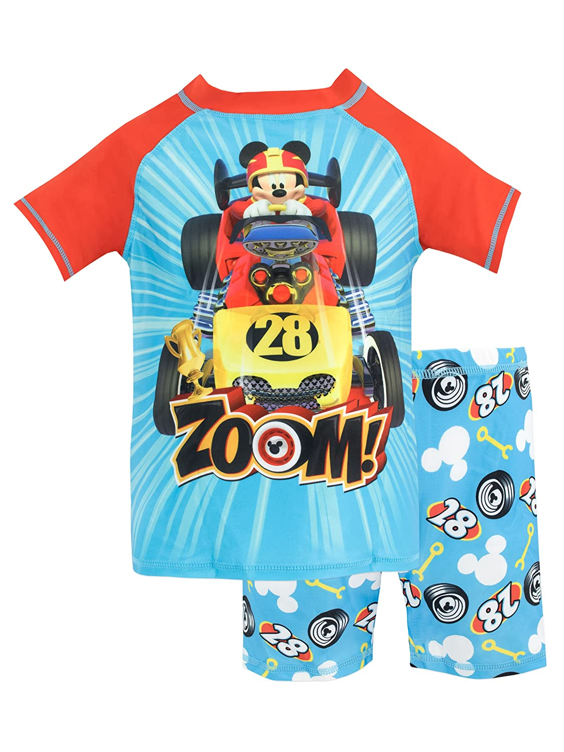 Disney Boys' Mickey and The Roadster Racers Two Piece Swim Set