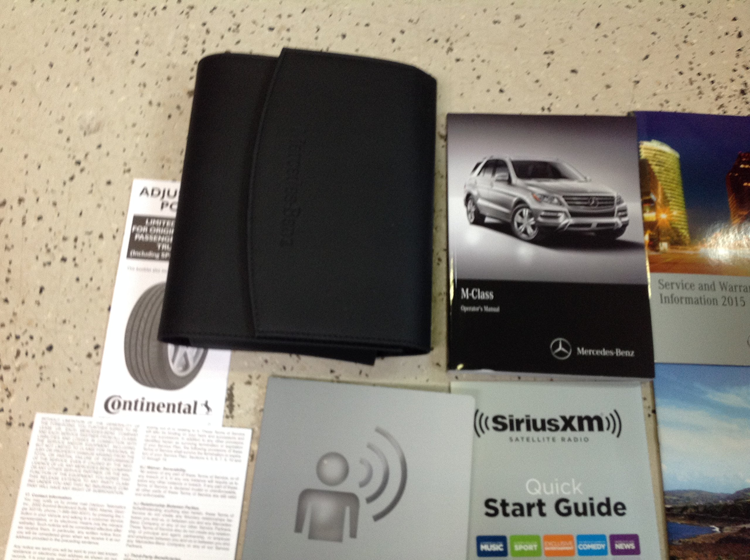 2015 MERCEDES BENZ ML350 ML63 ML550 Owners Manual SET KIT W CASE FACTORY  2015: MERCEDES: Amazon.com: Books