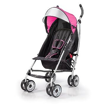 Amazoncom Summer Infant 3dlite Convenience Stroller Hibiscus