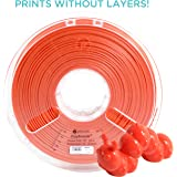 Polymaker PolySmooth 3D Printer Filament, Layer-Free 3D Filament, Coral Red, 2.85 mm Filament, 750g