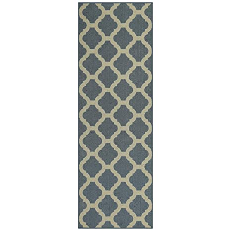 Amazon Com Maples Rugs Eliza 2 X 6 Non Skid Hallway Entry Rugs