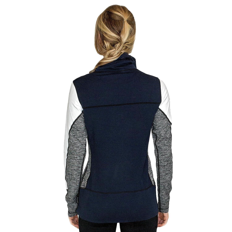 Athletic Top WoolX Women/'s Merino Wool Sweatshirt Look Amazing X560 Stay Warm