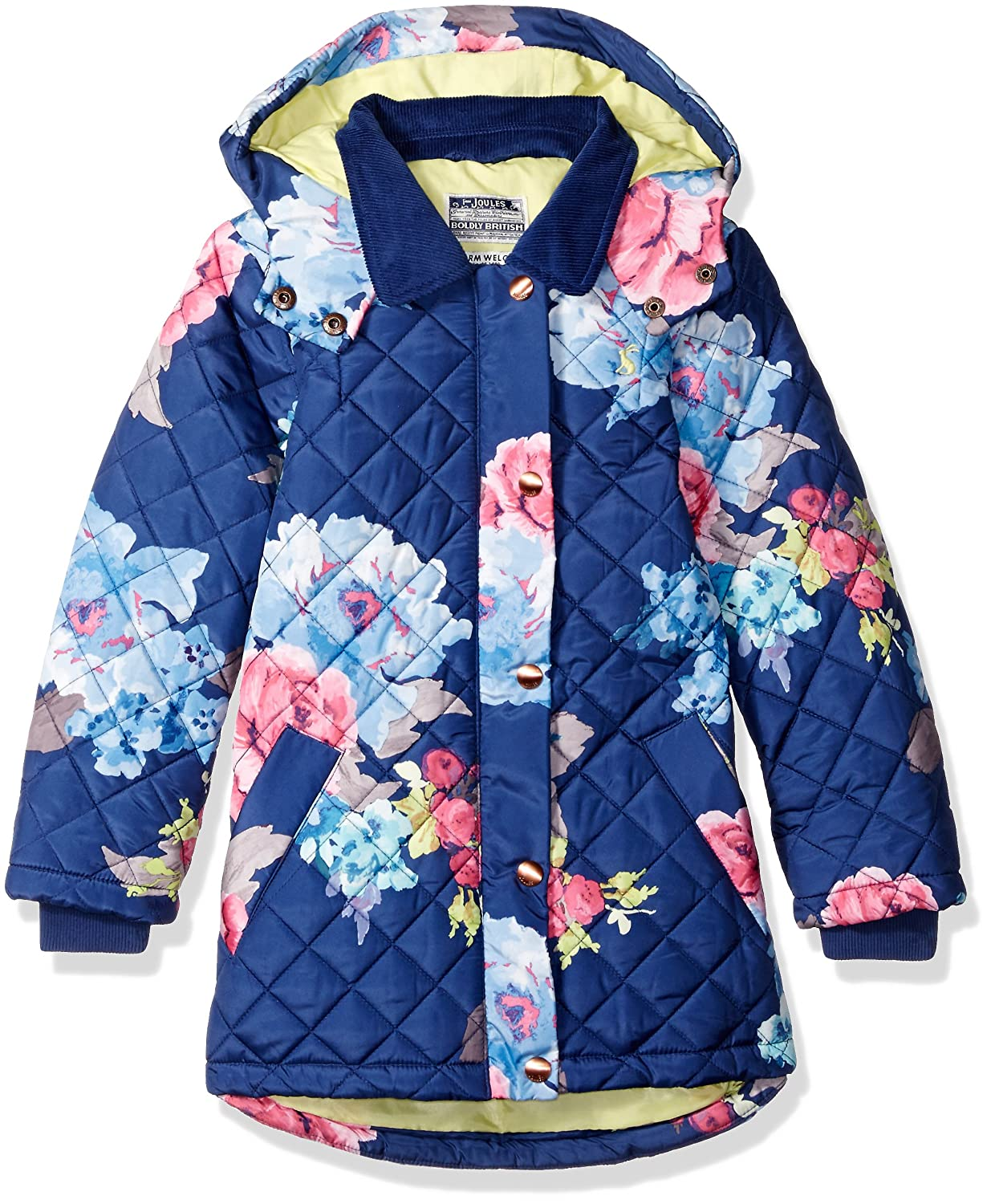 29824f07d08f Amazon.com  Joules Girls  Little Marcotte Quilted Coat