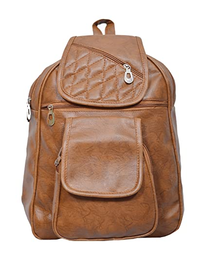 50ecec07d7 Mango Star Designer Backpack For Girls And Women (Brown)  Amazon.in ...